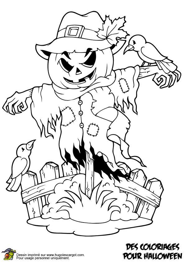 2161 Best Printables - Halloween & Thanksgiving Images On pour Dessin Halloween Qui Fait Peur