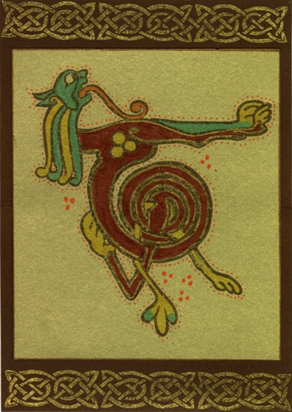 246 Best Book Of Kells Images On Pinterest | Illuminated pour Script In The Book Of Kells Book