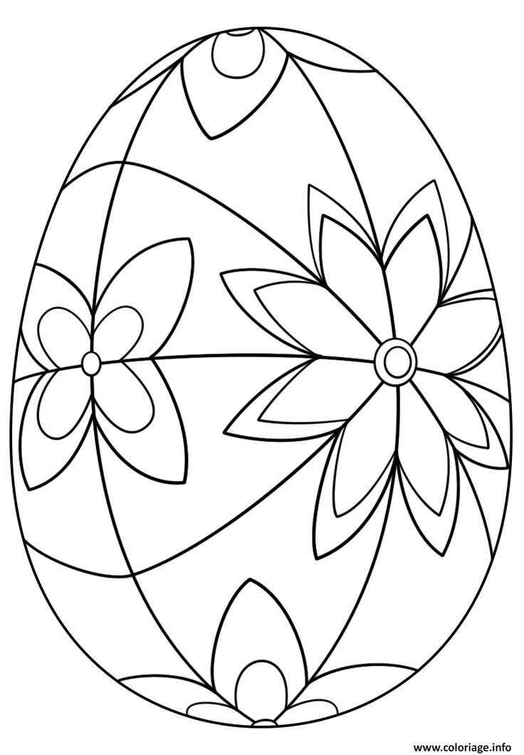 252 Best Egg Art Images On Pinterest | Easter Eggs, Carved pour Oeufs De Paques À Colorier