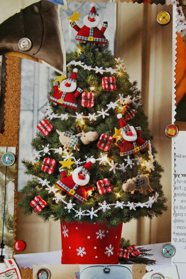 26 Modèles De Petit Sapin De Noël Artificiel - Archzine.fr tout Sapin De Noel Avec Cadeaux