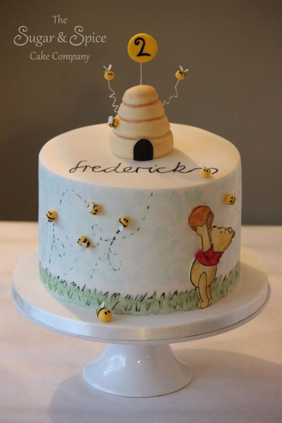 26 Sweet Winnie The Pooh Inspired Cakes – Party Ideas Ph serapportantà Pooh Gateau