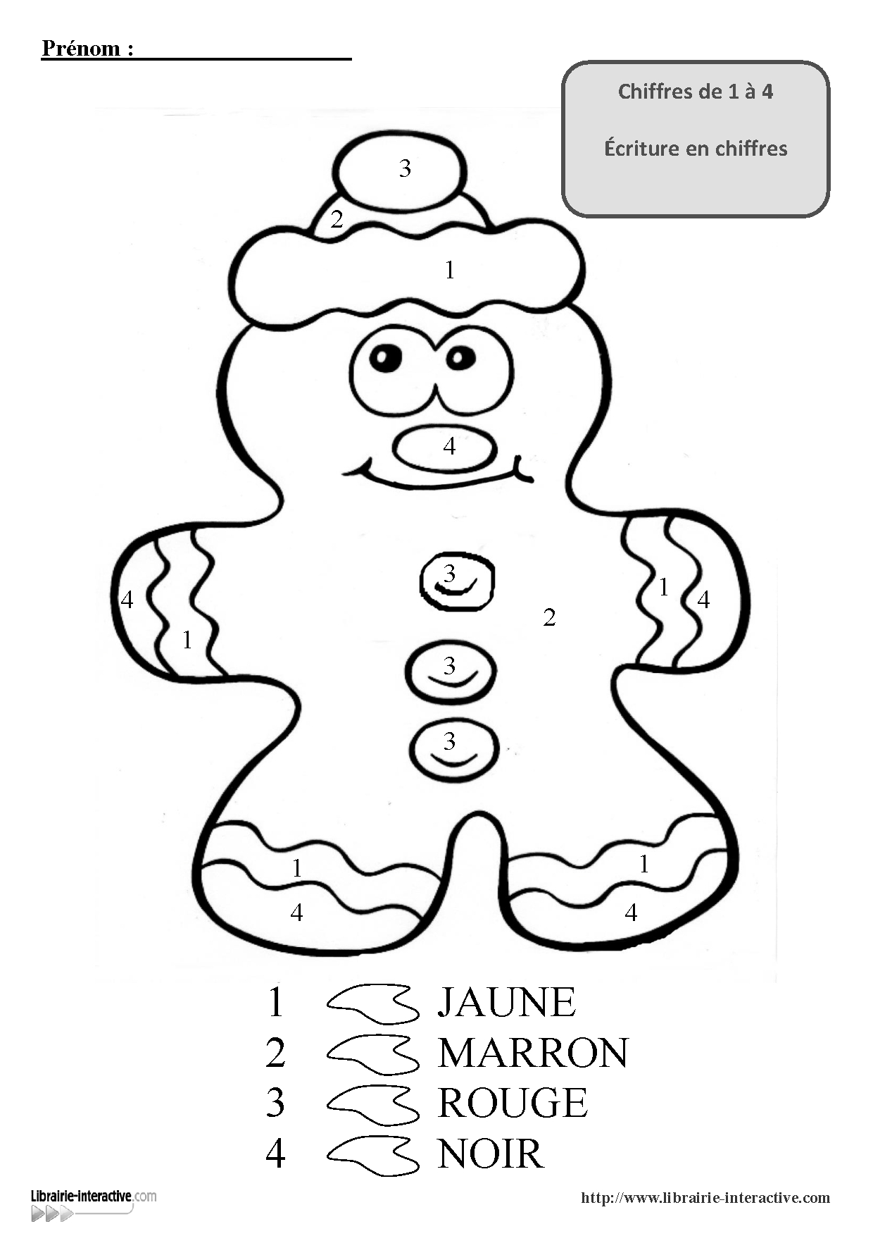 3 Coloriages Magiques Pour Les Maternelles, Pour La Venue tout Coloriage Numéroté Maternelle
