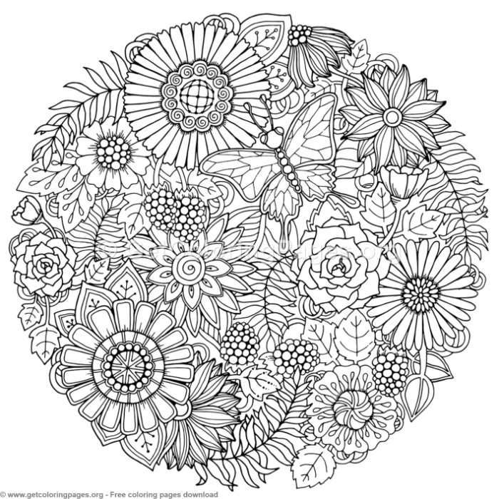 3 Zentangle Round Mandala Coloring Pages tout 100 Greatest Mandala Coloring Book: