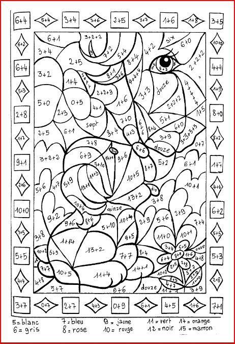 30 Coloriage Magique Imparfait Cm2 Nouveau | Math For Kids à Coloriage Magique De Chat