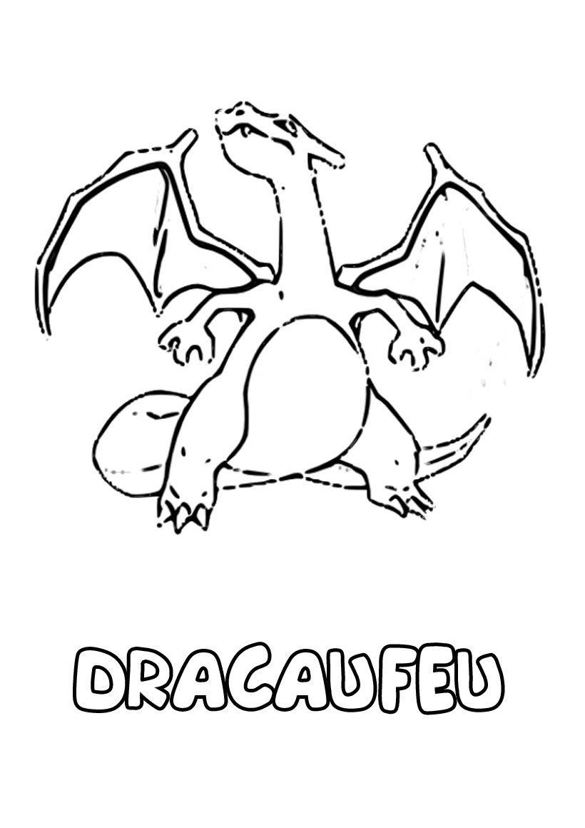 30 Dracaufeu Y Coloriage Facile | Worksheets Gallery dedans Coloriage Pokemon Salameche Imprimer