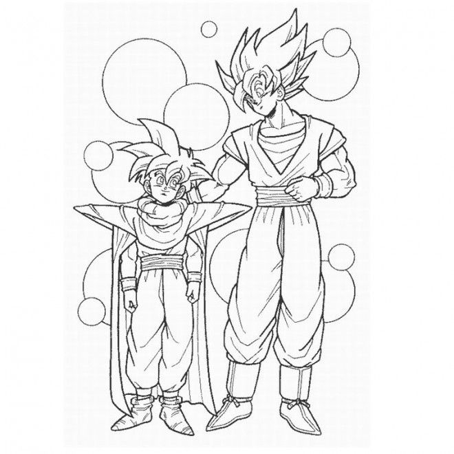 30 Dragon Ball Z Coloriage Sangoku Super Sayen 4 Nouveau à Coloriage Vegeta A Imprimer
