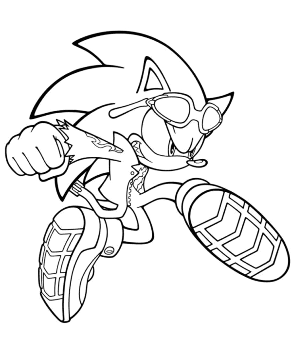30 Free Sonic The Hedgehog Coloring Pages Printable à Coloriage Sonic
