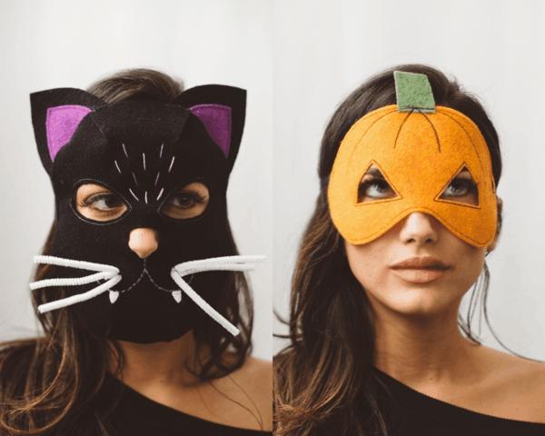 30 Idées De Masque Halloween À Fabriquer Vous-Même pour Masque Halloween A Fabriquer