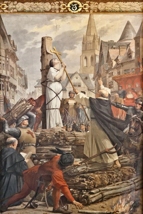 30 Mai 1431 : Mort De Sainte Jeanne D'Arc ; Son Cœur serapportantà Dessin Magique Ste Jeanne D'Arc