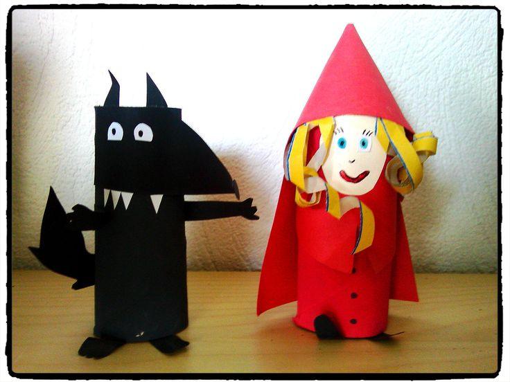 33 Best Le Petit Chaperon Rouge Images On Pinterest concernant Images Petit Chaperon Rouge Imprimer