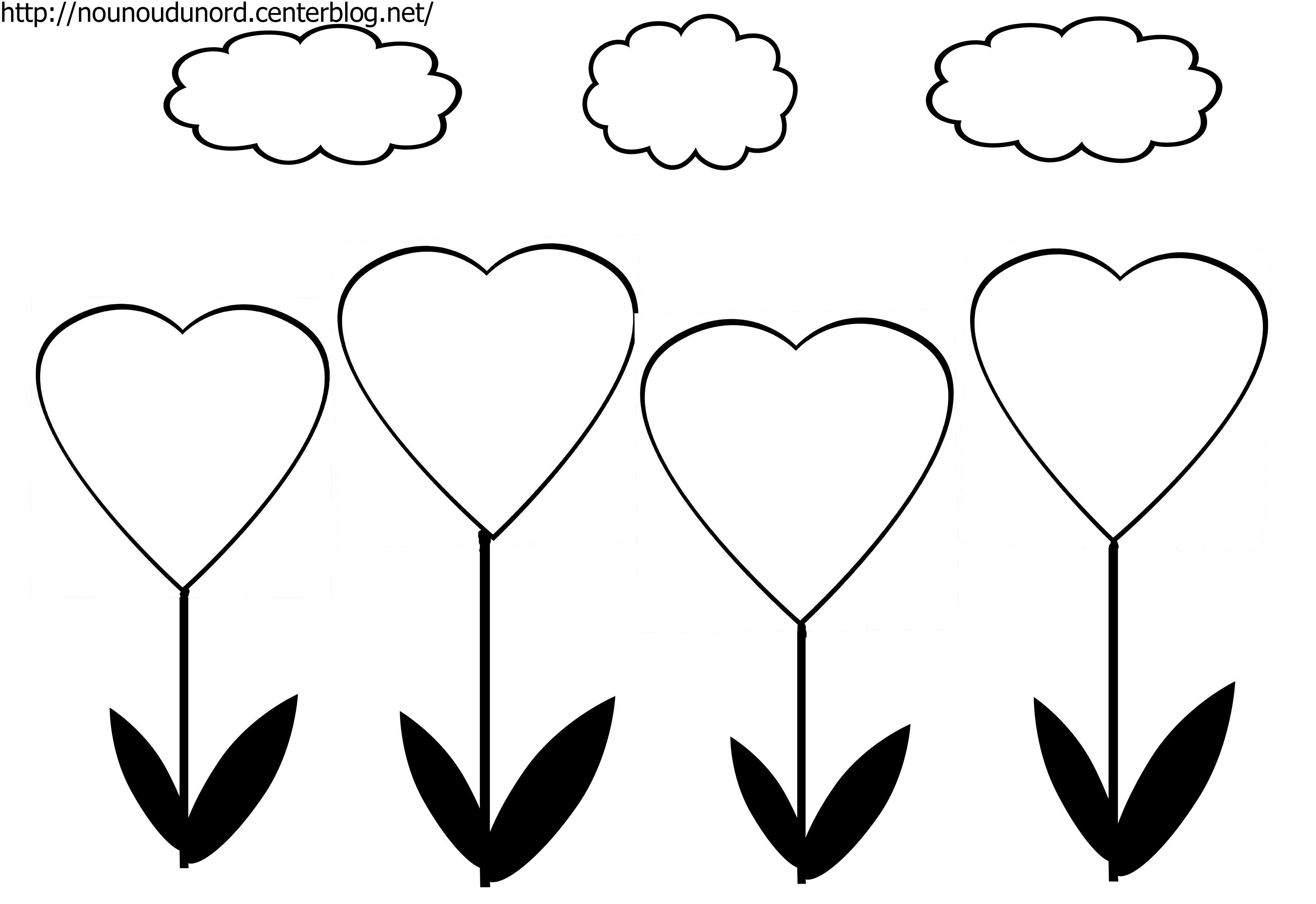 38 Dessins De Coloriage Coeur À Imprimer pour Coloriage Coeur À Imprimer Gratuit
