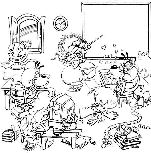 39 Best Coloriages Rentrée Des Classes Images On Pinterest à Coloriage Rentr?E