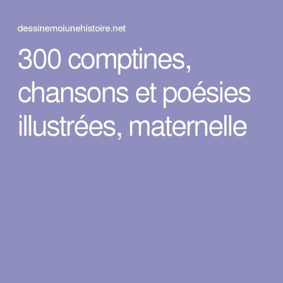 400 Comptines, Chansons Et Poésies Illustrées, Maternelle encequiconcerne Comptines Gratuites