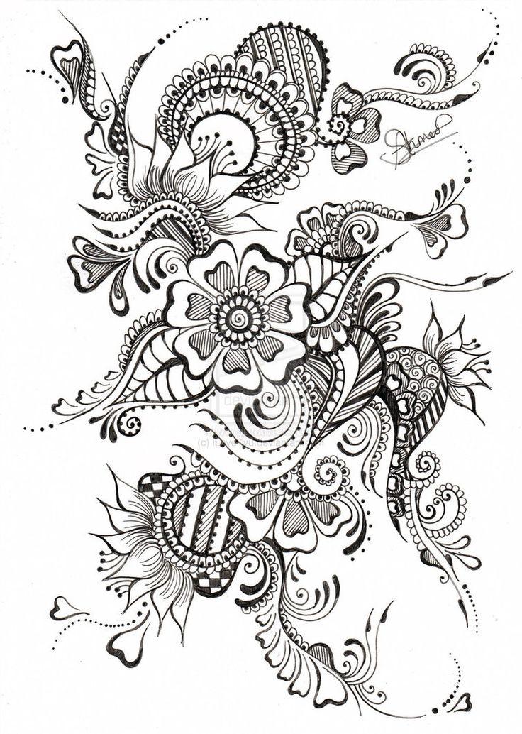 41 Dessins De Coloriage Inspiration Zen À Imprimer Sur concernant Coloriages Zen