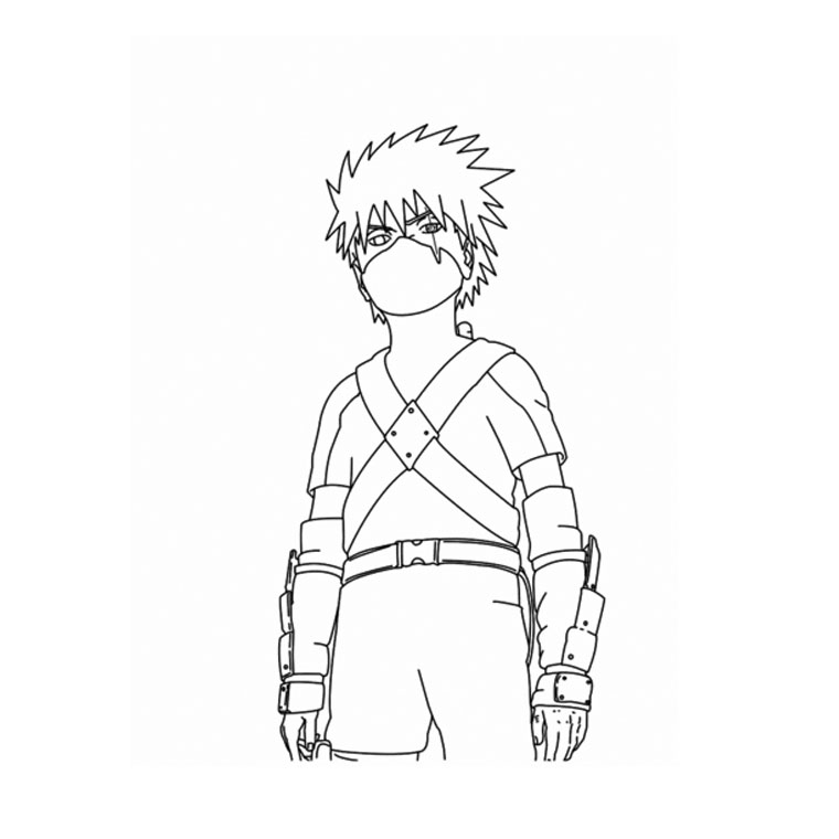 41 Dessins De Coloriage Naruto À Imprimer avec Dessin A Imprimer De Naruto