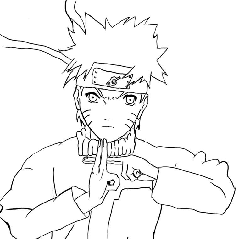 41 Dessins De Coloriage Naruto À Imprimer pour Coloriage Sasuke Gratuit A Imprimer