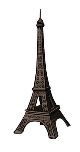 41 Dessins De Coloriage Tour Eiffel À Imprimer concernant Dessiner La Tour Eiffel