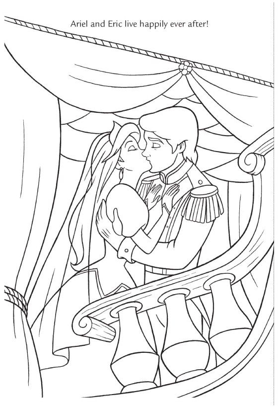 4280201212_54D4A1451E_O (560×821) | Coloriage Disney dedans Dessin A Imprimer Arielle La Petite Sirene