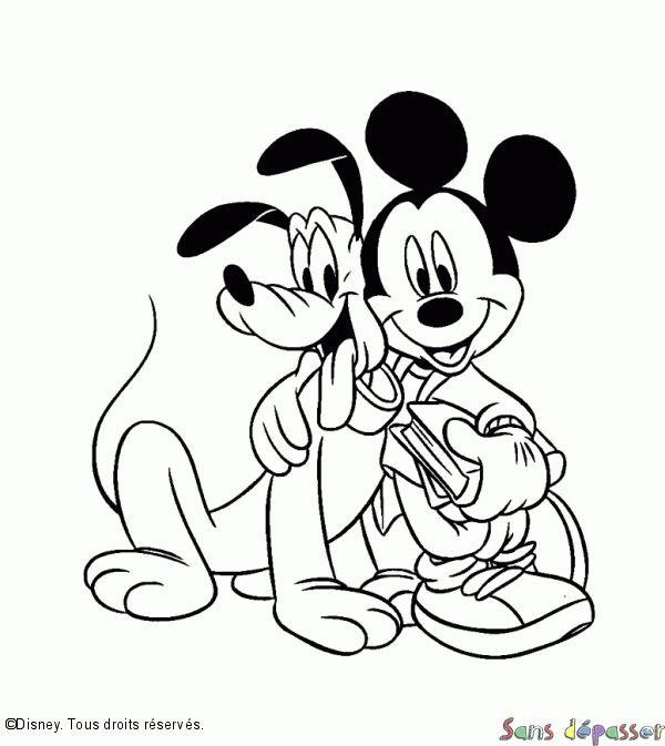 43 Best Coloriage Louis Images On Pinterest | Coloring intérieur Coloriage Mickey A Imprimer