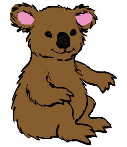 45 Dessins De Coloriage Koala À Imprimer à Coloriage Koala A Imprimer