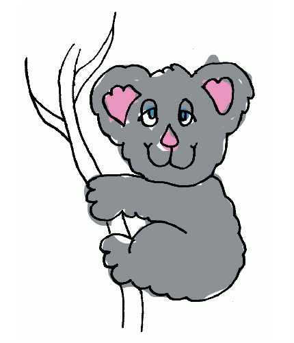 45 Dessins De Coloriage Koala À Imprimer encequiconcerne Coloriage Koala A Imprimer
