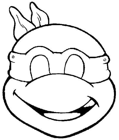49 Desenhos Das Tartarugas Ninja Para Pintar/Colorir (Com destiné Coloriage Tortue Ninja A Imprimer Gratuit