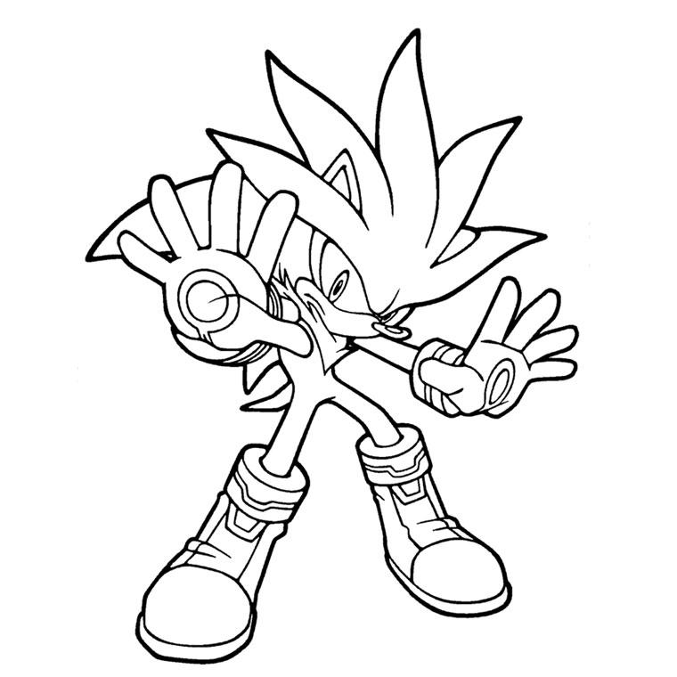 49 Dessins De Coloriage Sonic Boom À Imprimer serapportantà Sonic À Colorier