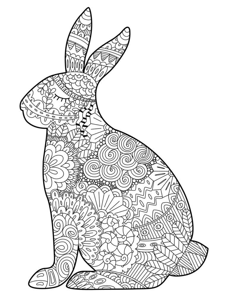 5 Beaux Coloriages De Pâques Pour Enfants & Adultes • • encequiconcerne Coloriage Herisson A Imprimer Gratuit