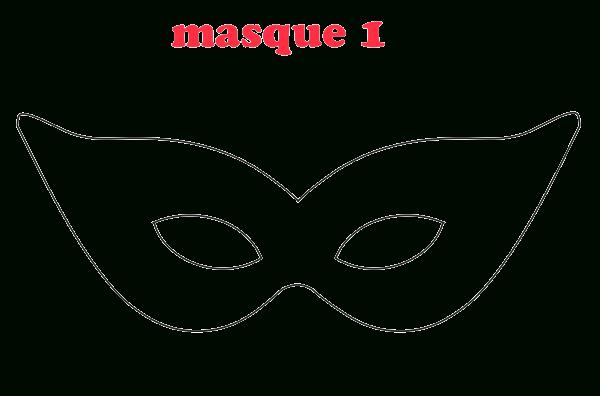 5 Masques À Télécharger Pour Mardi Gras Ou Le Carnaval destiné Masque Super Héros A Imprimer