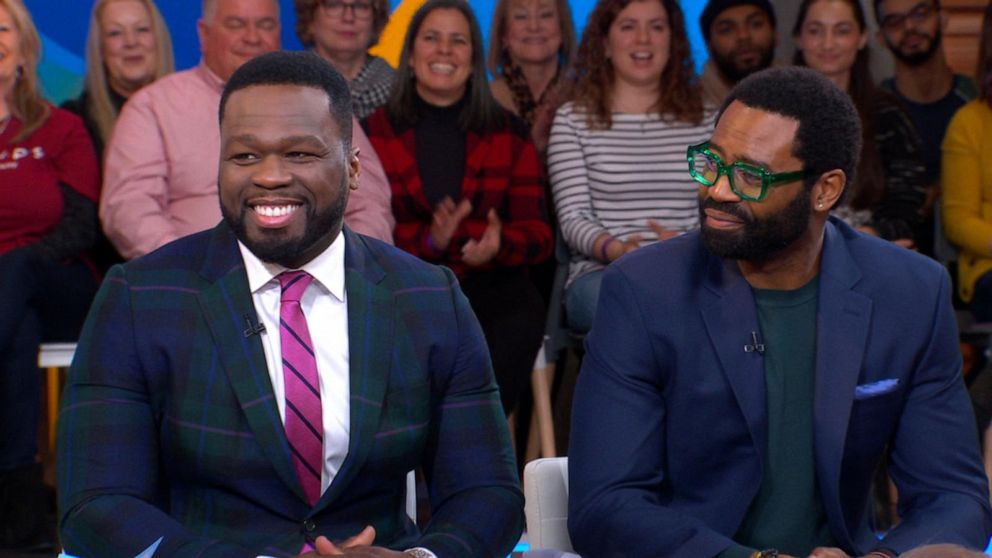50 Cent And Nicholas Pinnock Talk Powerful New Show, 'For tout Sitemap_Abc?Famille=