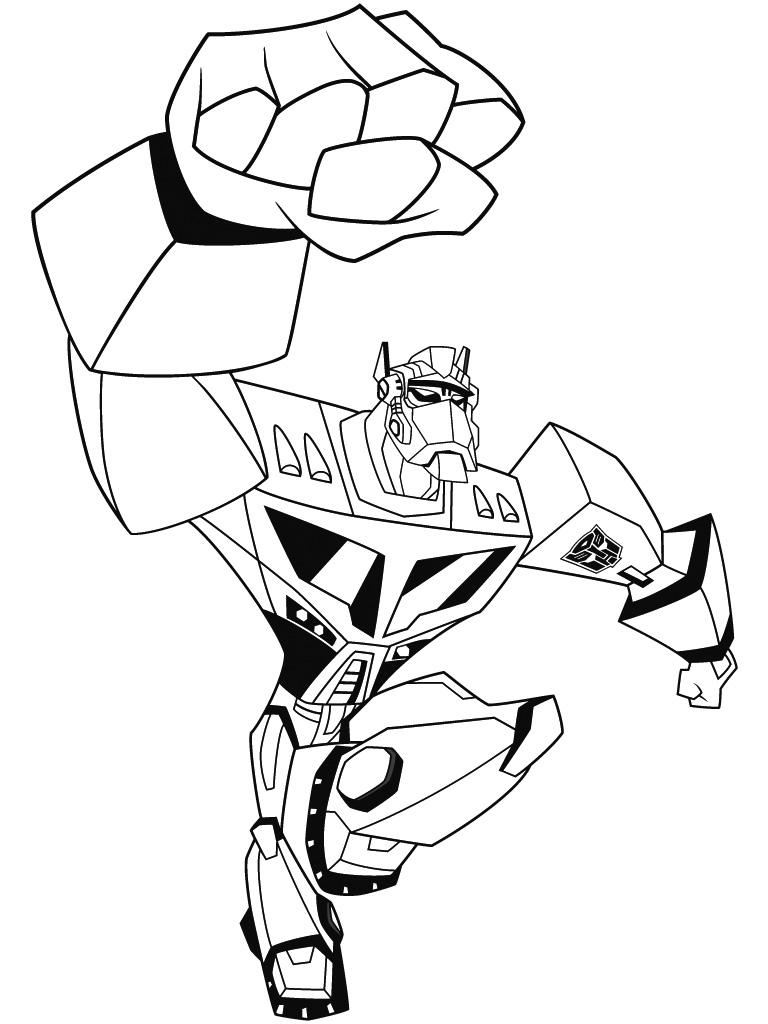 52 Dessins De Coloriage Transformers À Imprimer tout Dessin De Transformers