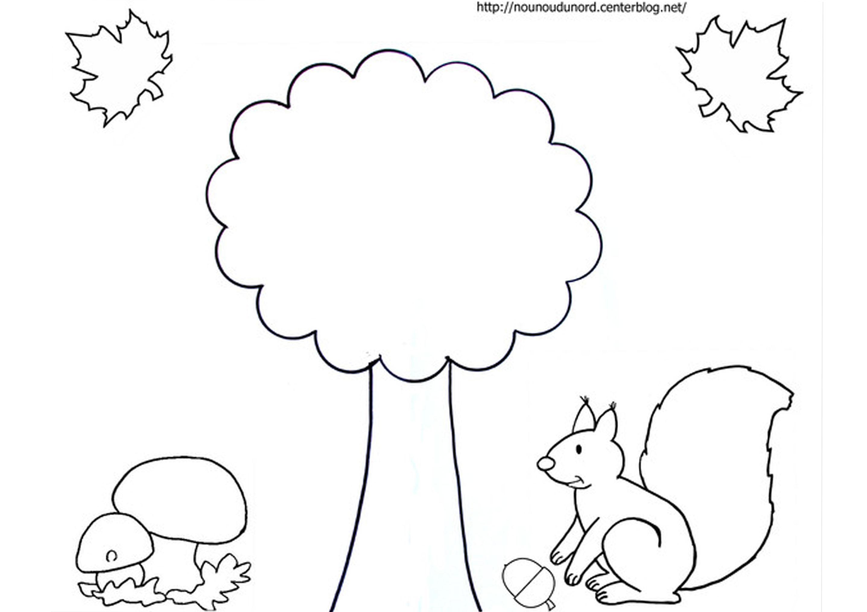 59 Dibujos De Otoño Para Colorear | Oh Kids | Page 6 avec Coloriage Ecureuil A Imprimer Gratuit