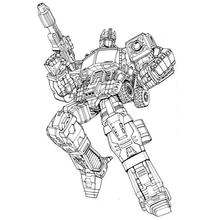 6 Dessins De Coloriage Transformers À Imprimer À Imprimer tout Coloriage À Imprimer Transformers