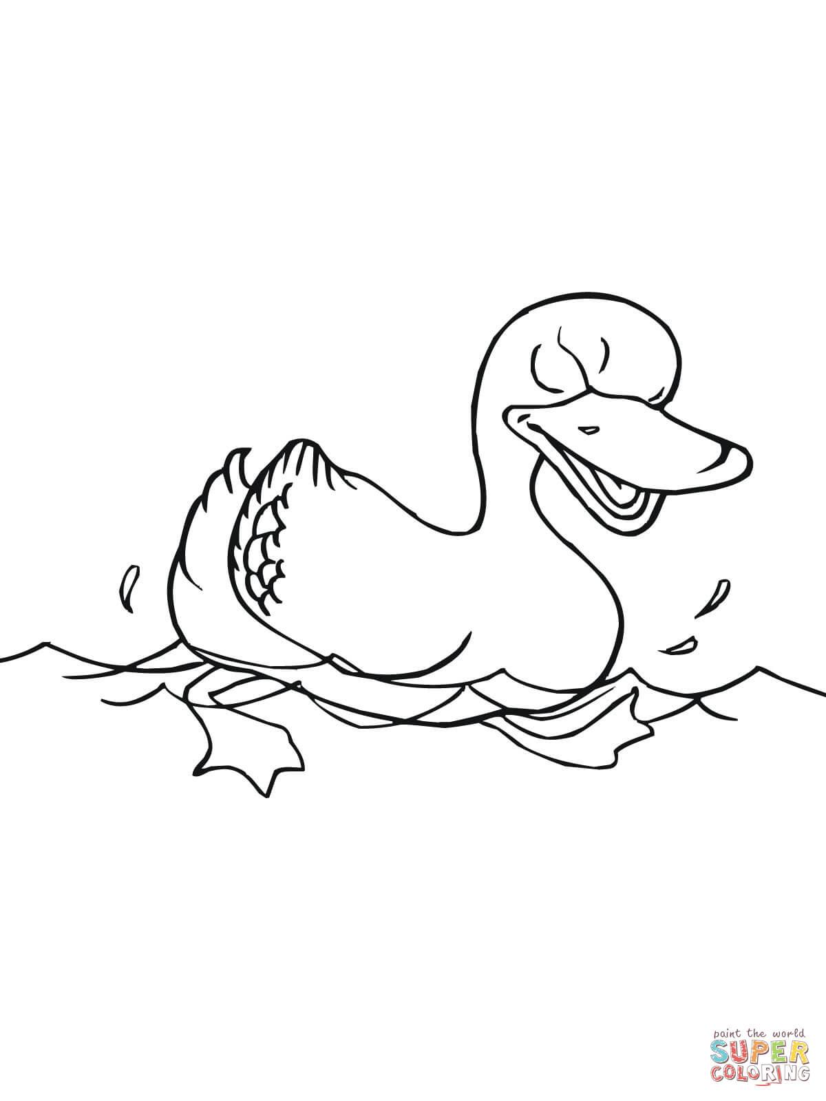 69 Dessins De Coloriage Canards À Imprimer Sur Laguerche concernant Coloriage Canard A Imprimer