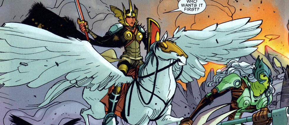 7 Super-Héroïnes Ou Super-Vilaines Qui Méritent Leur pour Super Héros Fille Marvel