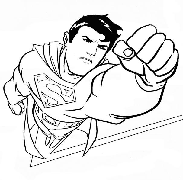 71 Dessins De Coloriage Superman À Imprimer Sur Laguerche tout Coloriage Superman A Imprimer Gratuit