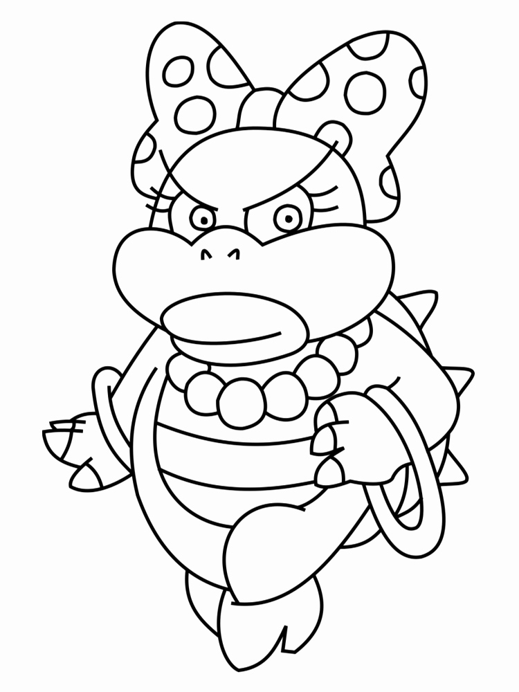 75 Nouveau Images De Coloriage Bowser Gratuit | Panorama destiné Coloriage Bowser