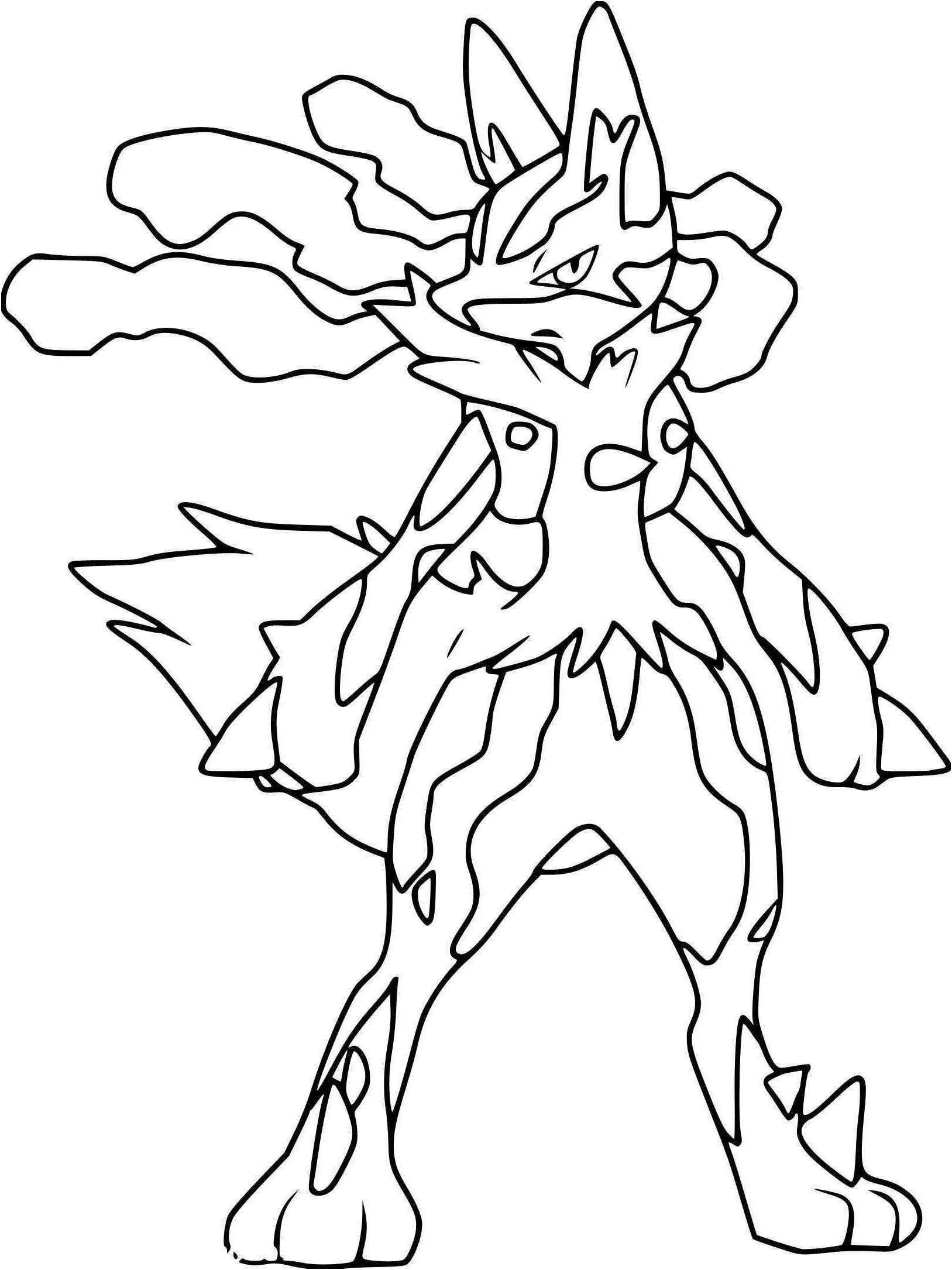 8 Aimable Coloriage Pokemon Mega Evolution Stock avec Coloriage De Pokemon A Imprimer Gratuitement
