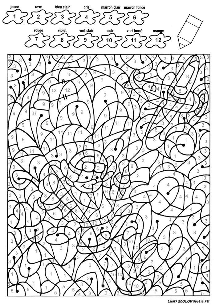 8 Attrayant Coloriage Magique Chiffre Stock | Coloriage intérieur Coloriage Anglais