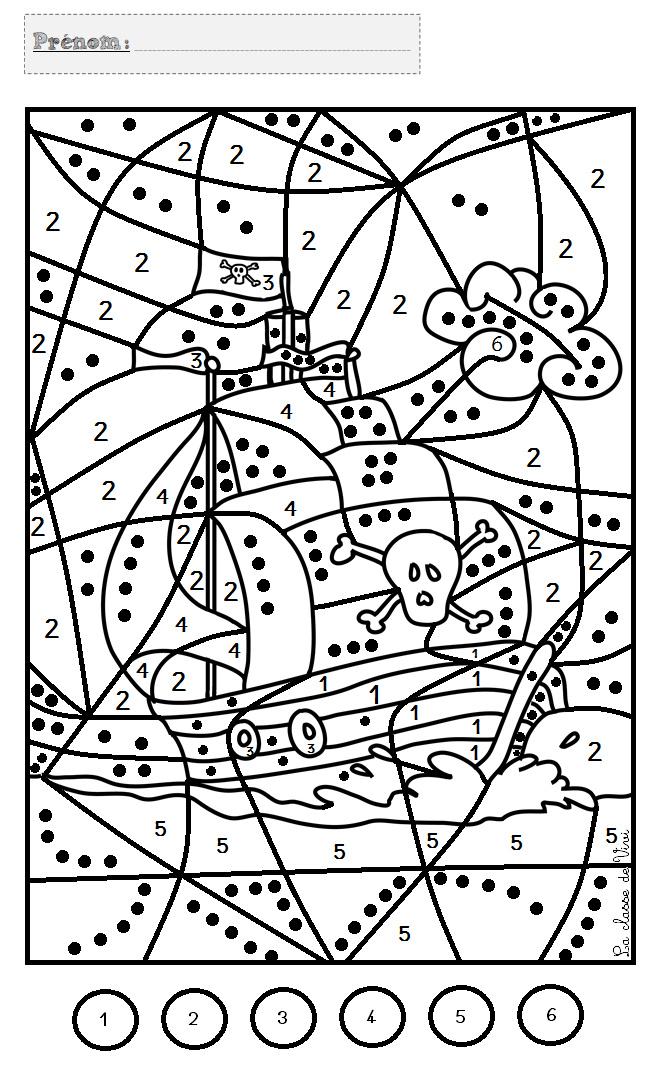 8 Attrayant Coloriage Magique Chiffre Stock | Coloriage serapportantà Coloriage Chiffre