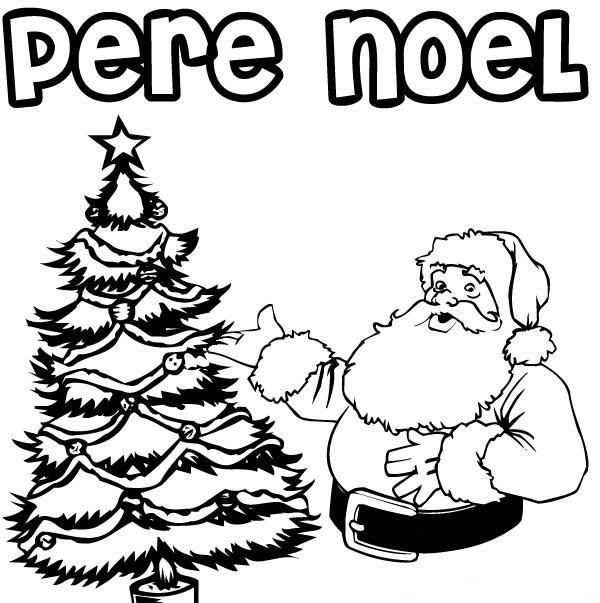 8 Dessins De Coloriage Père Noël Imprimer Gratuit À Imprimer destiné Imprimer Dessin Pere Noel Gratuit