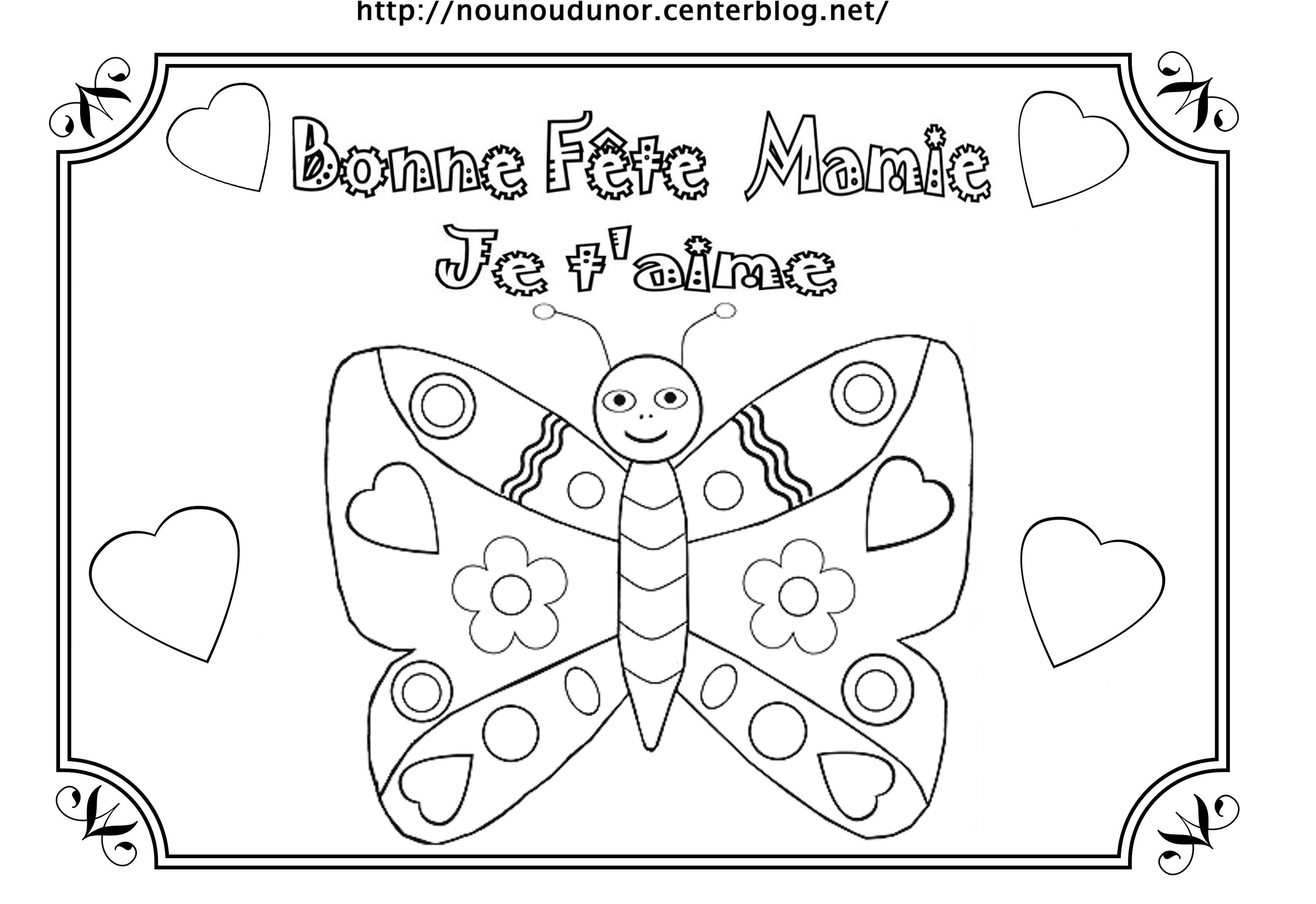8 Incroyable Coloriage Anniversaire Mamie Pics En 2020 dedans Coloriage Anniversaire Mamie
