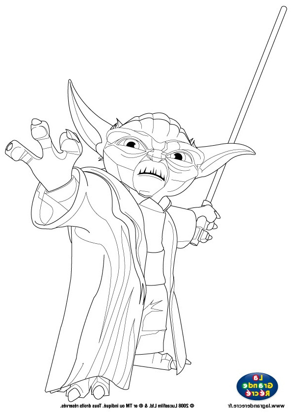 8 Nouveau De Coloriage Maitre Yoda Galerie - Coloriage concernant Maitre Yoda Dessin