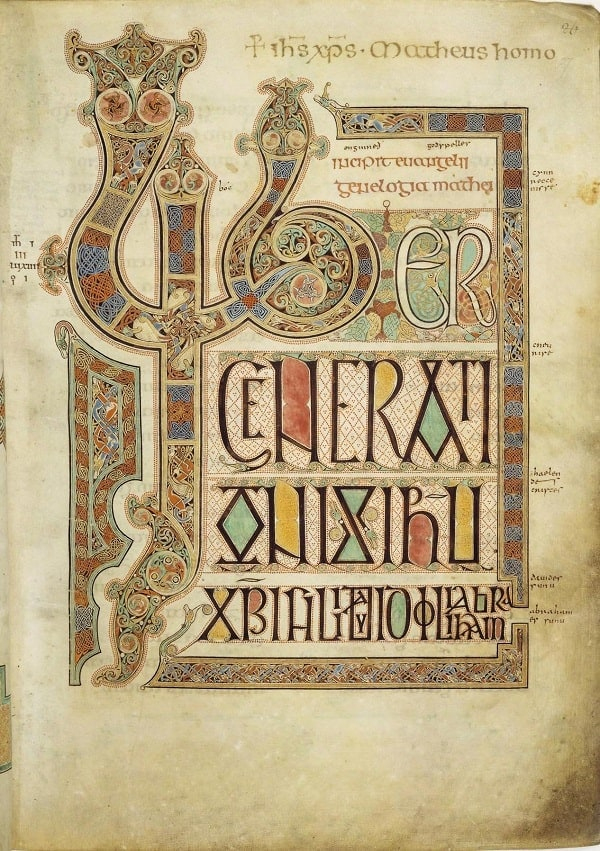 8 Oldest Books That Ever Existed | Oldest serapportantà Script In The Book Of Kells