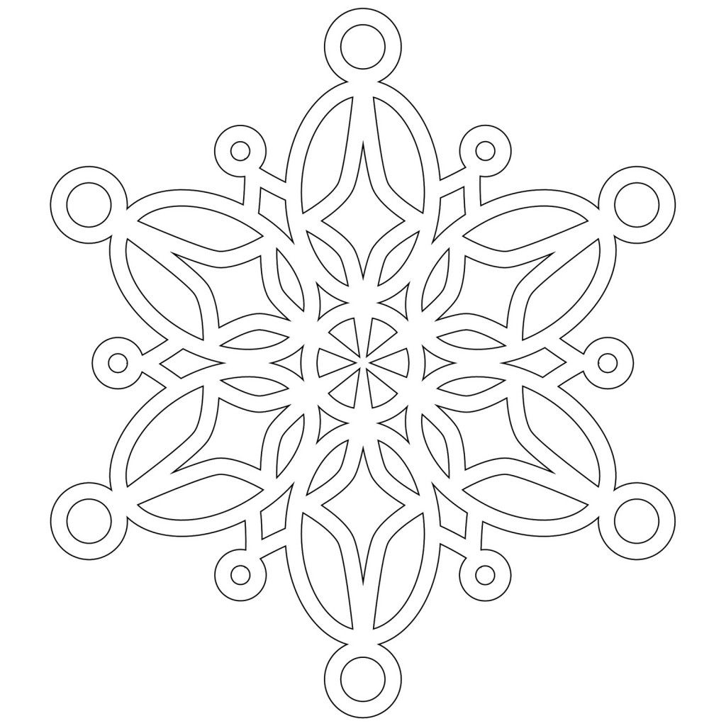 8 Photos Of Snowflake Coloring Pages | Coloriage Enfant concernant Flocon À Colorier