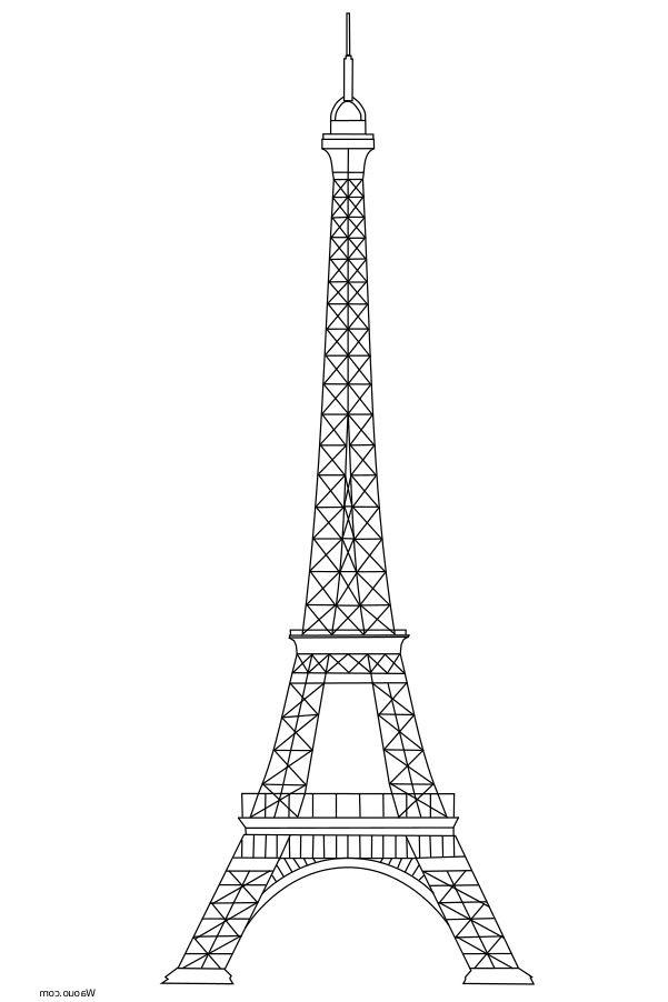 8 Vivant Tour Eiffel Coloriage Photograph En 2020 (Avec dedans Tour Effel Dessin