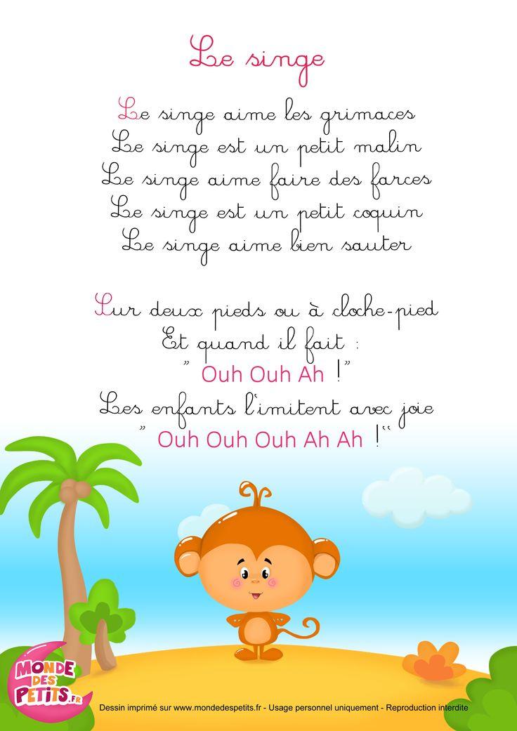 835 Best Chant Et Comptines Images On Pinterest | A Mouse à Contine Pour Les Petit