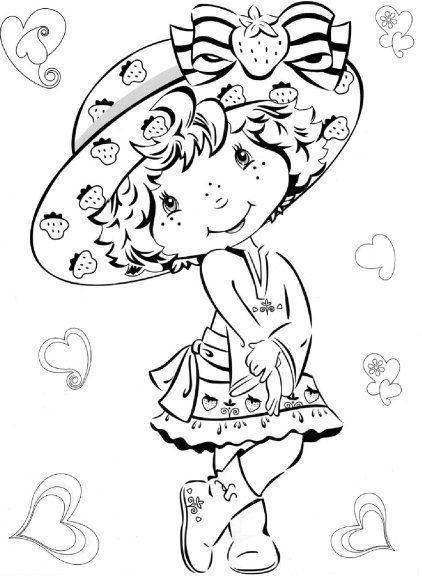 88 Best Charlotte Aux Fraises Images On Pinterest concernant Coloriage Charlotte Au Fraise