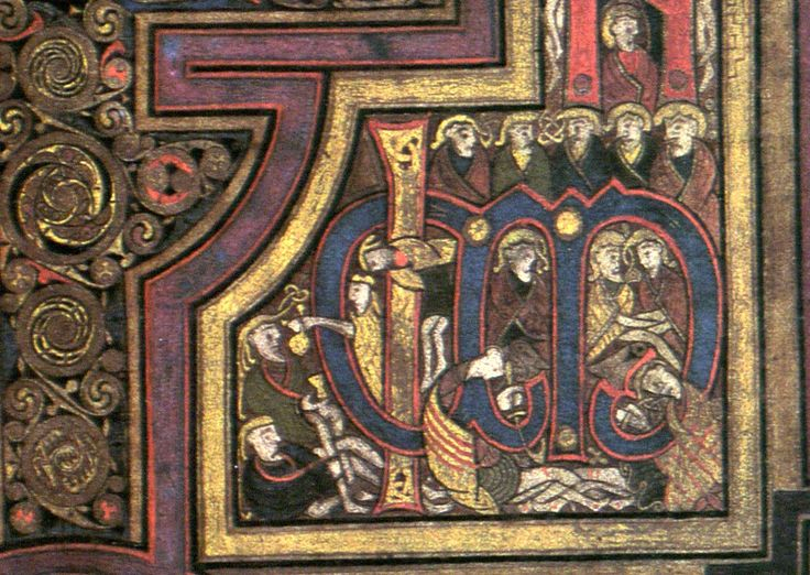 92 Best Book Of Kells Images On Pinterest | Illuminated concernant Script In The Book Of Kells