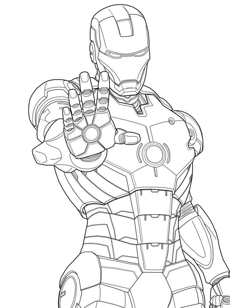 92 Dessins De Coloriage Iron Man À Imprimer Sur Laguerche à Dessin A Colorier Gratuit Iron Man
